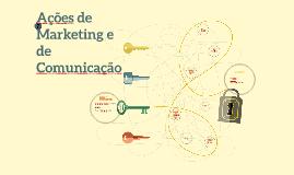 Ações de marketing e de Comunicação