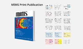 MIMS March Print Publication
