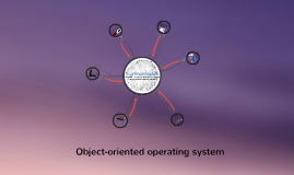 Object Oriented Operating Systems