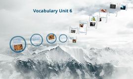 Copy of Unit 6 Vocab