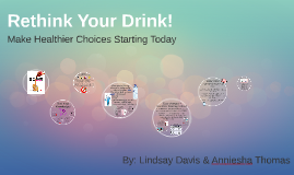 Rethink Your Drink! - Community Teaching