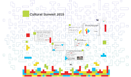 Cultural Summit 2015 - City and Cultural Leadership Council Update