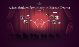 Asian Modern Femininity in Korean Drama