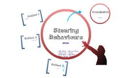Steering Behaviour