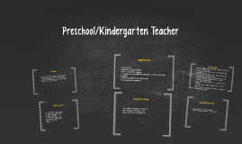Preschool/Kindergarten Teacher