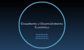 Economia - Noções de Crescimento  e Desenvolvimento Econômico