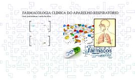 Farmacologia clínica do aparelho respiratório