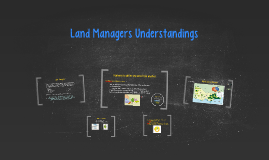 Copy of Land Managers Understandings
