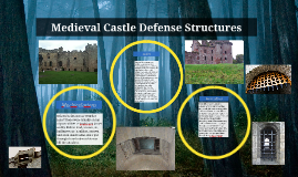 Medieval Castle Defense Structures