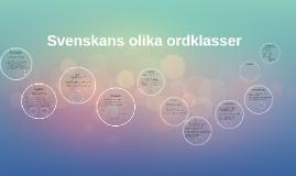 Copy of Ordklasser