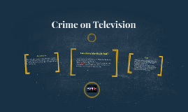 Crime on Television