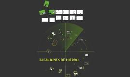 Copy of HIERRO Y SUS ALEACIONES