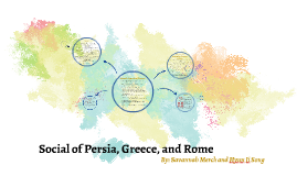 Social of Persia, Greece, and Rome