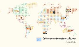 Culturen ontmoeten culturen