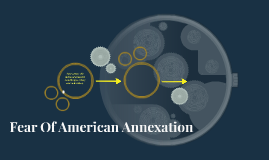 Fear Of American Annexation