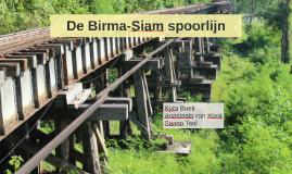 De Birma-Siam spoorlijn