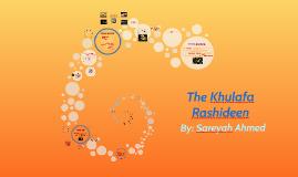 The Khulafa Rashideen