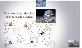 Copy of Procesos de  producción de botellas de plástico