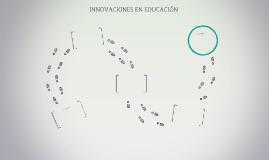 INNOVACIONES EN EDUCACIÓN
