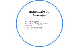 Educación en Noruega