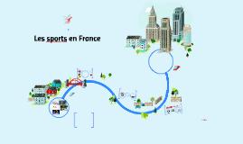 Copy of Les sports en France
