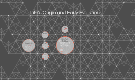Life's Origin and Early Evolution