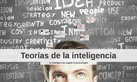 teorias de la inteligencia