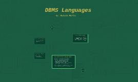 DBMS Languages