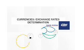 Week 12: determination of exchange rates