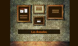 Las donadas
