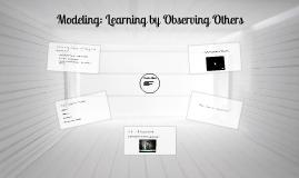 Chapter 11: Modeling