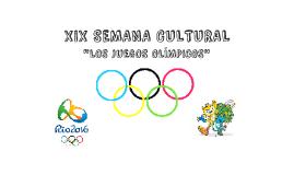 """Copy of """"LOS JUEGOS OLÍMPICOS"""""""