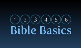 Bible Basics Class Promo