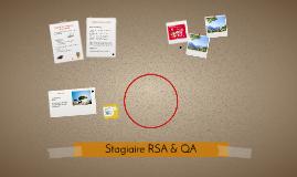 Stagiaire RSA & QA