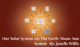 Our Solar System 06: The Earth-Moon-Sun System