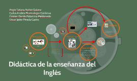 Didáctica de la enseñanza del Inglés