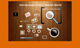 Entrpreneuship in Muslim World