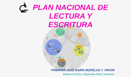 PLAN NACIONAL DE LECTURA Y ESCRITURA