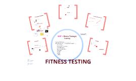 UNIT 1: Fitness Testing