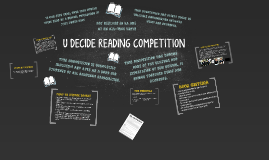 U DECIDE READING COMPETITION