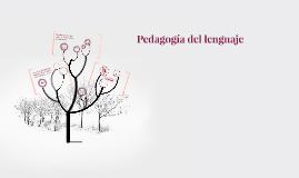 Pedagogia del lenguaje