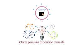Claves para un exposición eficiente