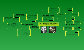 W.B. Yeats and Lady Gregory