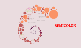 Copy of SEMICOLON