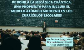 De Bohr a la mecanica cuantica