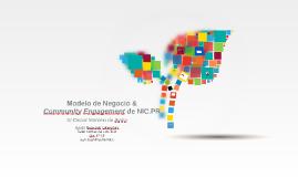 Copy of Modelo de Negocio & Community Engagement