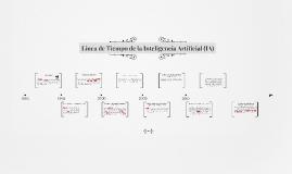 Línea de Tiempo de la Inteligencia Artificial (IA)