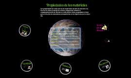 Propiedades de los Materiales~ ITSAT