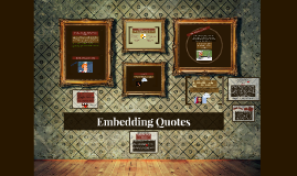 Copy of Embeddeing Quotes