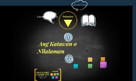 talatang paglalahad Mga halimbawa ng simile (pagtutulad) gumamit ng mga salitang tulad ng, gaya ng, para ng, kawangis nakaladlad ng pakpak ng ibon mga halimbawa ng tayutay.